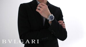 ブルガリ ディアゴノ プロフェッショナル エア クロノグラフ GMT 腕時計 メンズ BVLGARI DP45BSTVDCH/GMT