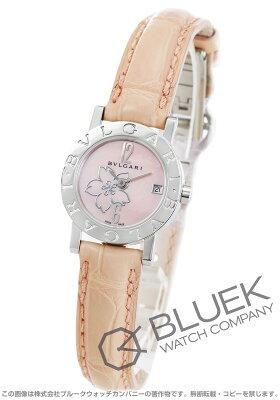 ブルガリ BVLGARI 腕時計 ブルガリブルガリ アリゲーターレザー レディース BB23C2SL/CBJA