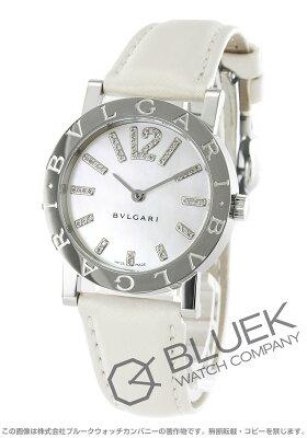 ブルガリ BVLGARI 腕時計 ブルガリブルガリ ダイヤ サテンレザー レディース BB33WSL/D