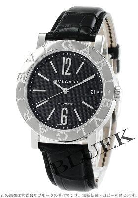 ブルガリ BVLGARI 腕時計 ブルガリブルガリ アリゲーターレザー メンズ BB38BSLD