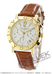 ブルガリ BVLGARI 腕時計 ブルガリブルガリ YG金無垢 アリゲーターレザー メンズ BB38WGLDCH