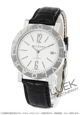 ブルガリ BVLGARI 腕時計 ブルガリブルガリ アリゲーターレザー メンズ BB38WSLD AUTO