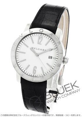 ブルガリ ブルガリブルガリ アリゲーターレザー 腕時計 メンズ BVLGARI BB41WSLD