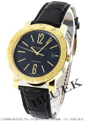 ブルガリ BVLGARI 腕時計 ブルガリブルガリ アリゲーターレザー メンズ BB42BGLD AUTO