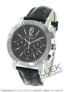 ブルガリ BVLGARI 腕時計 ブルガリブルガリ アリゲーターレザー メンズ BB42BSLDCH