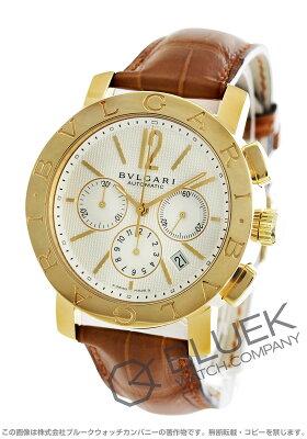 ブルガリ BVLGARI 腕時計 ブルガリブルガリ YG金無垢 アリゲーターレザー メンズ BB42WGLDCH
