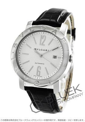 ブルガリ BVLGARI 腕時計 ブルガリブルガリ アリゲーターレザー メンズ BB42WSLD AUTO