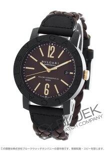 ブルガリ BVLGARI 腕時計 ブルガリブルガリ カーボンゴールド メンズ BBP40C11CGLD