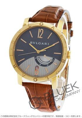 ブルガリ BVLGARI 腕時計 ブルガリブルガリ PG金無垢 アリゲーターレザー メンズ BBP41BGL