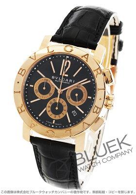 ブルガリ BVLGARI 腕時計 ブルガリブルガリ PG金無垢 アリゲーターレザー メンズ BBP42BPGLDCH