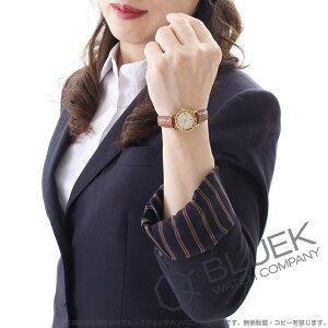 ブルガリ ブルガリブルガリ YG金無垢 アリゲーターレザー 腕時計 レディース BVLGARI BB23WGLD