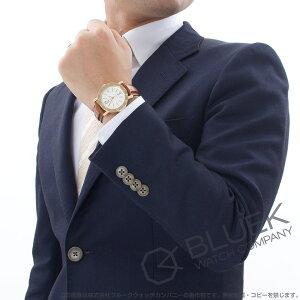 ブルガリ ブルガリブルガリ YG金無垢 アリゲーターレザー 腕時計 メンズ BVLGARI BB38WGLDAUTO