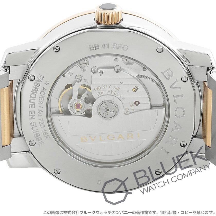ブルガリブルガリブルガリ腕時計メンズBVLGARIBB41WSPGD_3