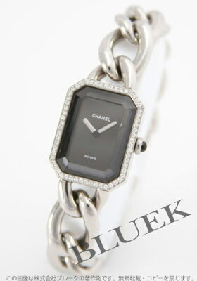 【シャネル】【時計】【腕時計】【新品】シャネル プルミエール ダイヤベゼル ブラック レディ...