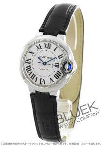 カルティエ Cartier 腕時計 バロンブルー アリゲーターレザー レディース W6920085