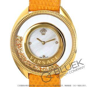 ヴェルサーチェ ディスティニー プレシャス ダイヤ リザードレザー 腕時計 レディース VERSACE 86Q721MD497S585
