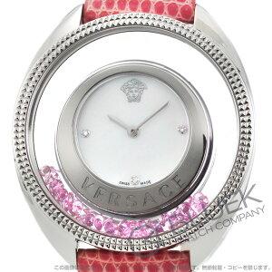 ヴェルサーチ ディスティニー プレシャス ダイヤ リザードレザー 腕時計 レディース VERSACE 86Q951MD497S111