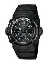 カシオ Casio G-SHOCK ガリッシュブラック メンズ AWG-M100BW-1AJF