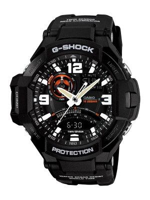 カシオ G-SHOCK スカイコックピット グラビティマスター クロノグラフ 腕時計 メンズ CASIO GA-1000-1AJF