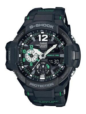 カシオ G-SHOCK スカイコックピット グラビティマスター クロノグラフ 腕時計 メンズ CASIO GA-1100-1A3JF