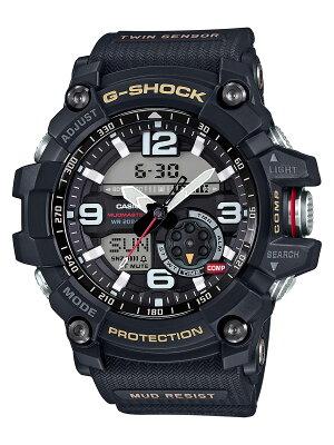 カシオ CASIO 腕時計 G-SHOCK マスターオブG マッドマスター ツインセンサー メンズ GG-1000-1AJF