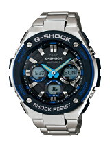 カシオ Casio G-SHOCK Gスチール メンズ GST-W100D-1A2JF