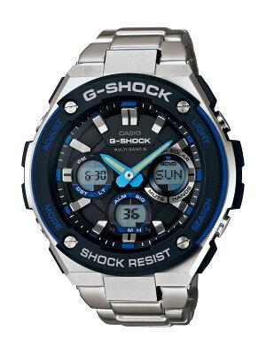 カシオ G-SHOCK Gスチール クロノグラフ 腕時計 メンズ CASIO GST-W100D-1A2JF