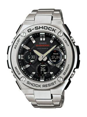 カシオ G-SHOCK Gスチール クロノグラフ 腕時計 メンズ CASIO GST-W110D-1AJF