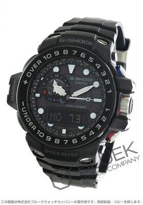 カシオ G-SHOCK マスターオブG ガルフマスター クロノグラフ ムーンフェイズ パワーリザーブ 腕時計 メンズ CASIO GWN-1000B-1AJF