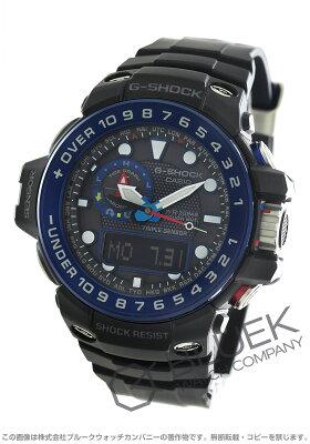カシオ G-SHOCK マスターオブG ガルフマスター クロノグラフ ムーンフェイズ パワーリザーブ 腕時計 メンズ CASIO GWN-1000B-1BJF