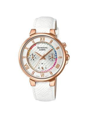 カシオ CASIO 腕時計 シーン レディース SHE-3041GLJ-7AJF