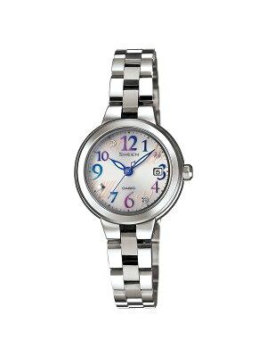 カシオ シーン フレッシュカラーズシリーズ 腕時計 レディース CASIO SHE-4506SBD-7A2JF