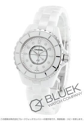 シャネル J12 ダイヤ 腕時計 レディース CHANEL H2422