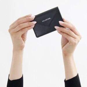バレンシアガ 名刺入れ/カードケース レディース ペーパー シィン カード ブラック 499201 DLQ0N 1000 2018年秋冬新作 BALENCIAGA