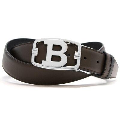 バリー ベルト メンズ B LINN 35 M リバーシブル チョコレートブラウン&ブラック BLINN35M 591 6208385 BALLY