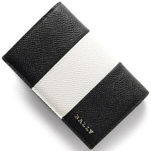 バリー BALLY カードケース LERYT BOLD ブラック&ホワイト LERYTBOLD 00 メンズ