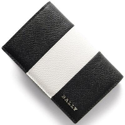 バリー カードケース メンズ LERYT BOLD ブラック&ホワイト LERYTBOLD 00 6207964 BALLY
