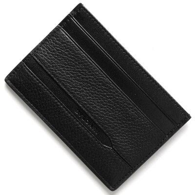ブルガリ BVLGARI カードケース オクト OCTO ブラック 36969 メンズ
