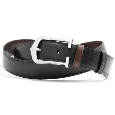 カルティエ CARTIER ベルト リバーシブル ブラック&ダークブラウン L5000152 メンズ