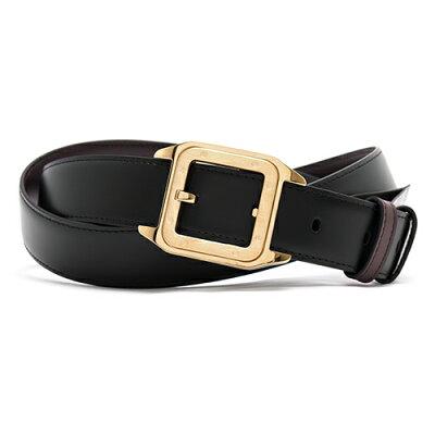 カルティエ CARTIER ベルト サントス リバーシブル ブラック&ダークブラウン L5000420 メンズ