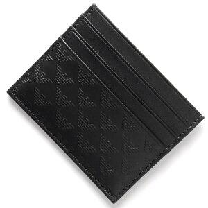 エンポリオアルマーニ EMPORIO ARMANI カードケース P.CARTE ブラック YEM320 YC043 80001 メンズ