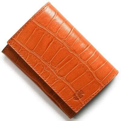 フェリージ FELISI カードケース アランチョオレンジ 450 SA 0009 メンズ レディース