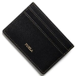 フルラ FURLA カードケース バビロン BABYLON ブラック PU01 B30 O60 レディース