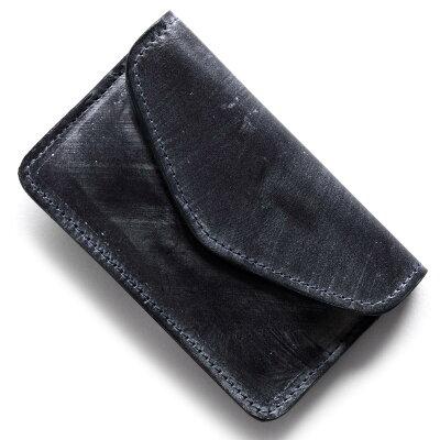 グレンロイヤル GLENROYAL カードケース ダークブルー 032878 DARKBLUE メンズ