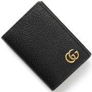 グッチ GUCCI カードケース GGマーモント 【MARMONT】 ブラック 428737 DJ20T 1000 メンズ レディース