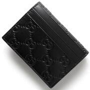 グッチ GUCCI カードケース GGシグネチャー ブラック 447948 CWC1G 1000 メンズ