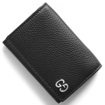 グッチ GUCCI カードケース ドリアン DORIAN ブラック 473923 A7M0N 1000 2018年春夏新作 メンズ