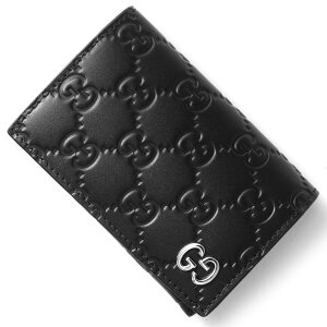 グッチ GUCCI カードケース ドリアン DORIAN グッチ GGシグネチャー ブラック 473923 CWC1N 1000 2017年秋冬新作 メンズ