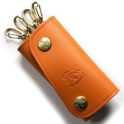 イルビゾンテ IL BISONTE キーケース スタンダード/STANDARD オレンジ C0378 P 166 メンズ レディース