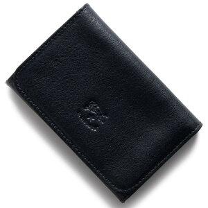 イルビゾンテ IL BISONTE カードケース スタンダード STANDARD ダークブルー C0470 P 137 2017年秋冬新作 メンズ レディース